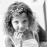 Portraiture Photography of Flower Girl