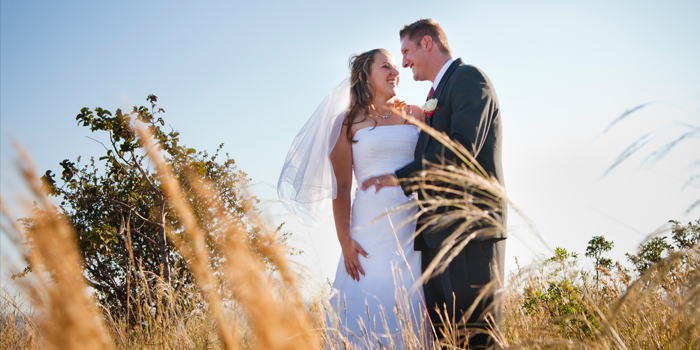 happy bride and groom photography