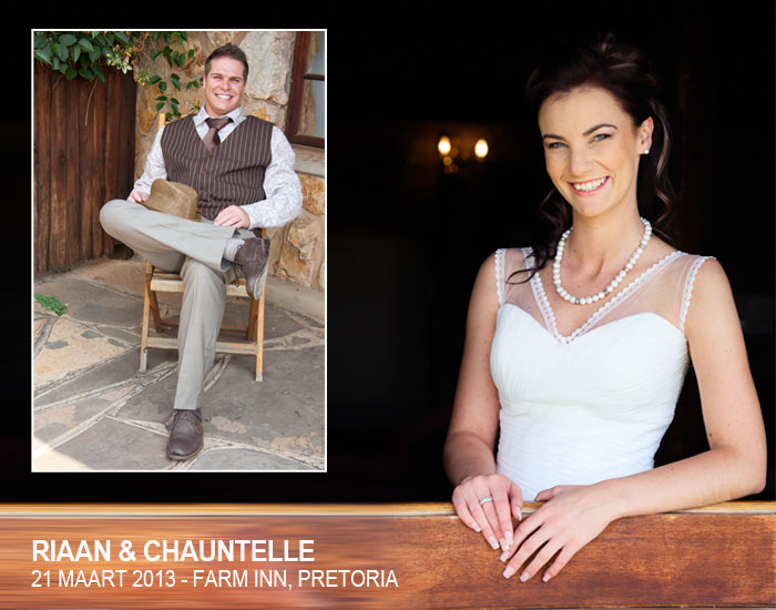 Pretoria Farm Inn Troue - Riaan & Chauntelle