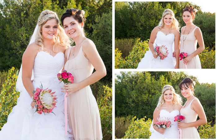 Bride and bridesmaids photography