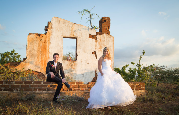 Old Building Wedding Photography