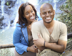 Luyanda & Lornah (Pre-Wedding Photography - Botanical Gardens, Johannesburg)
