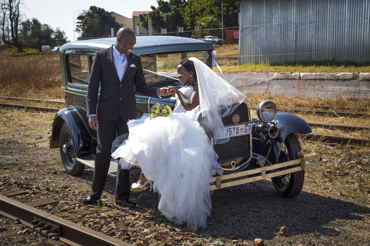 Cullinun Train Station Wedding
