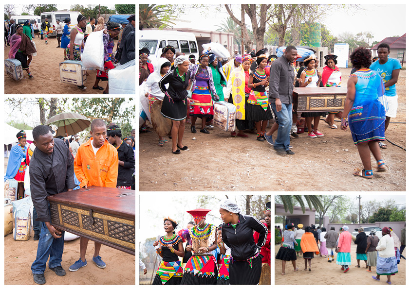 South african wedding traditional gifts
