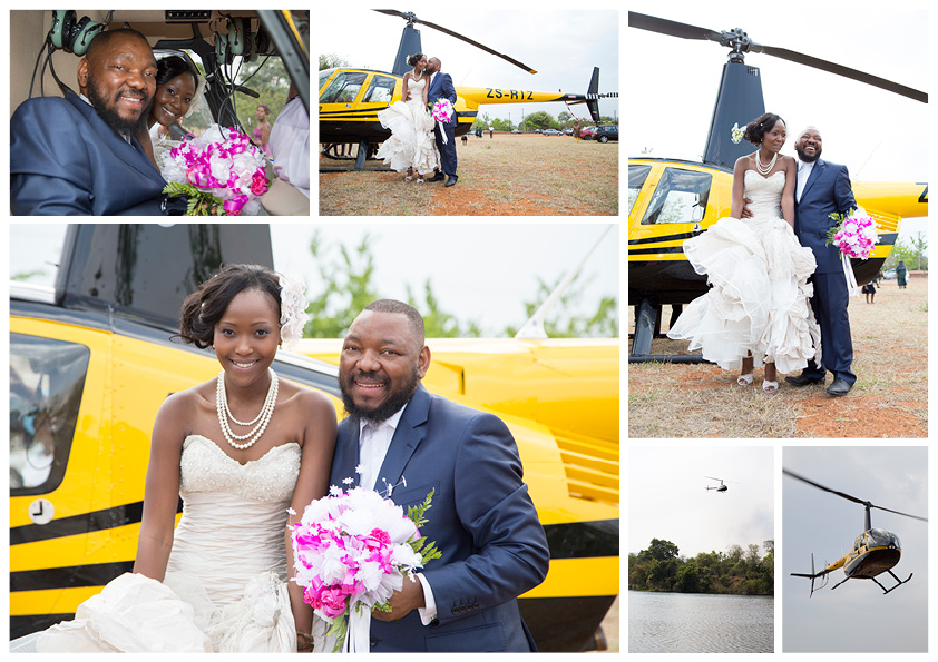 Helicopter wedding images