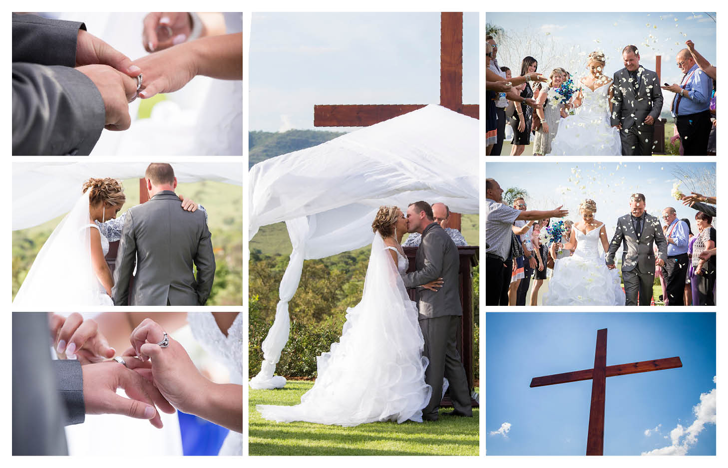 exchanging of rings and wedding ceremony traditions at La WiiDA Lodge