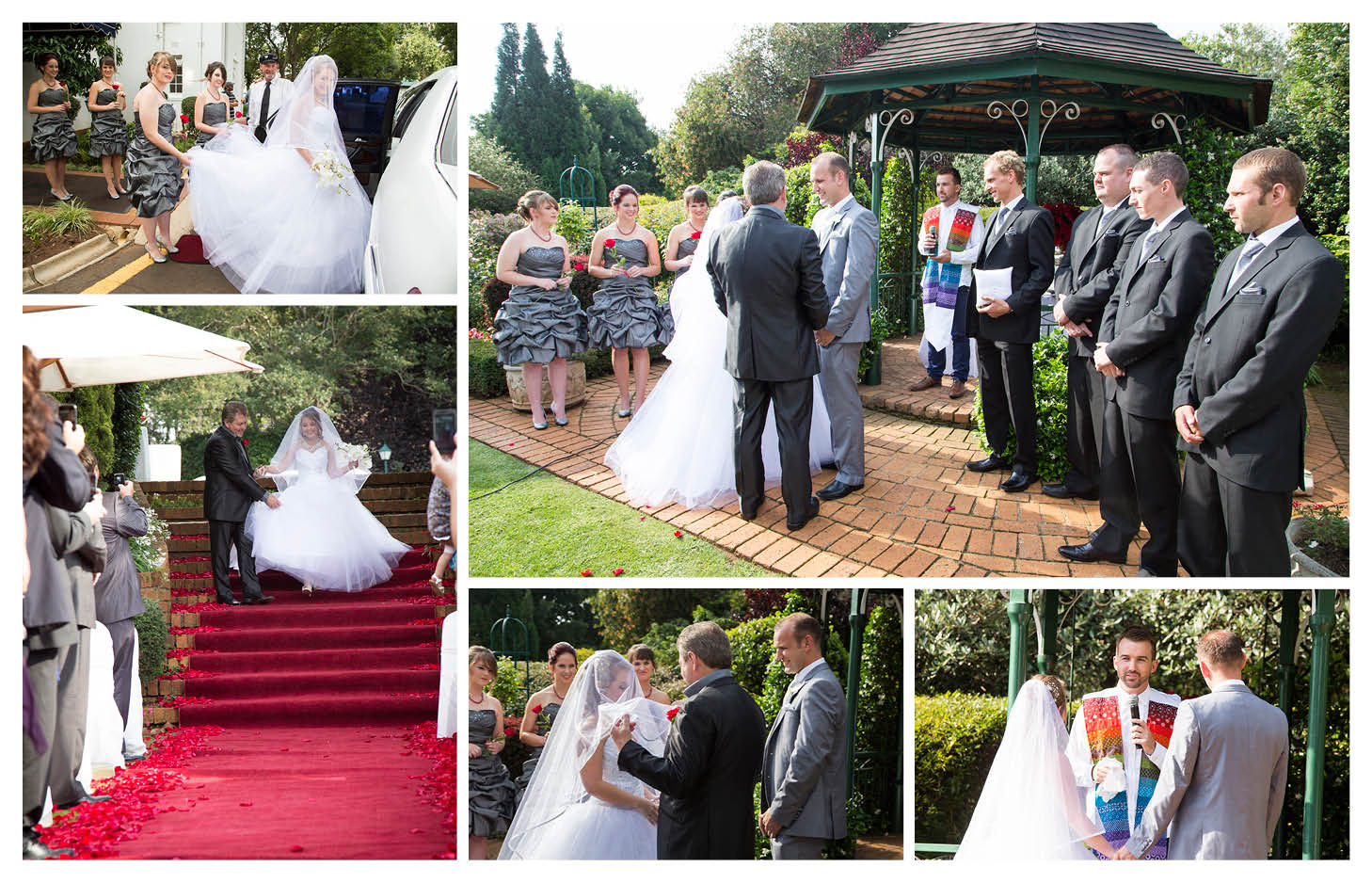 bride and groom wedding ceremony at the country club johannesburg