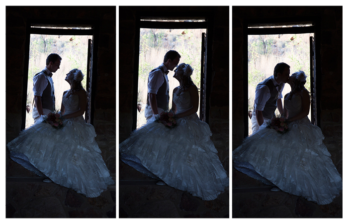 bride and groom rustic barn sillhouette photography