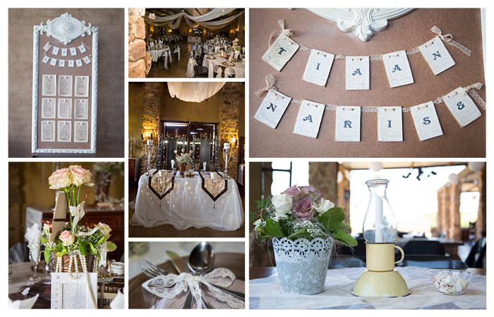 beautiful vintage diy wedding decoration