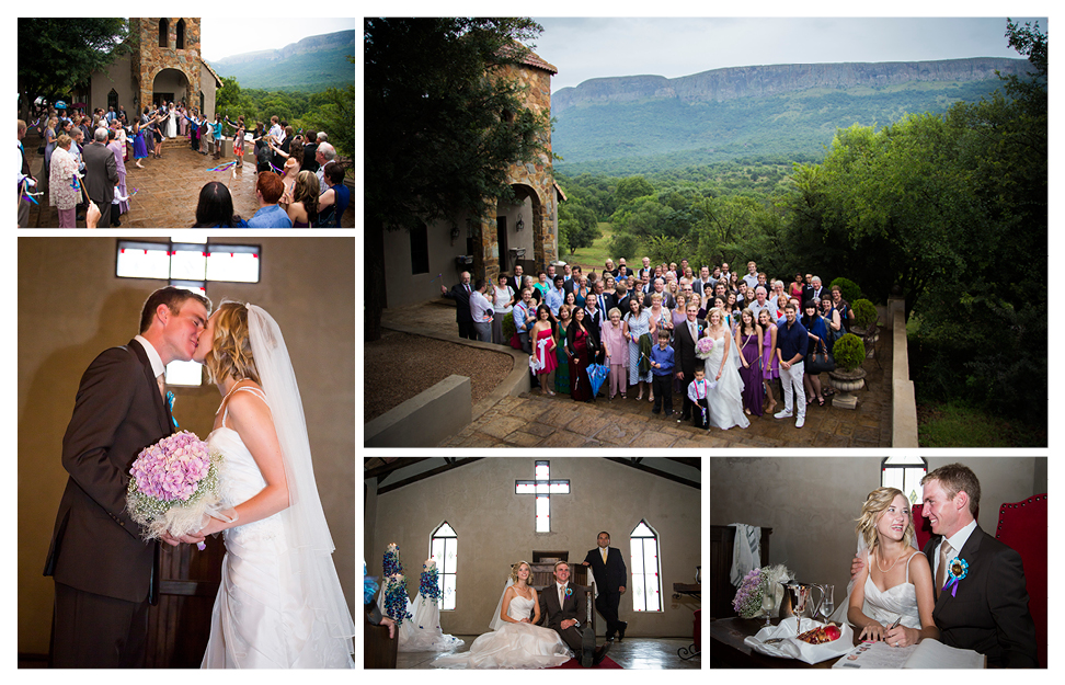 Mark & Lana wedding at Green Leaves in Hartbeespoort