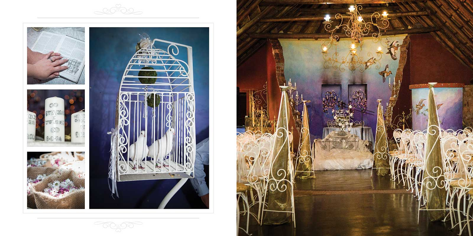 Bohemian wedding venue Duck&DIne