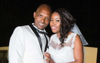 Evening wedding of Mpho & Nhlanla